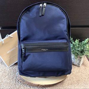 NEW Michael Kors Kent Nylon Backpack ~ Indigo Blue